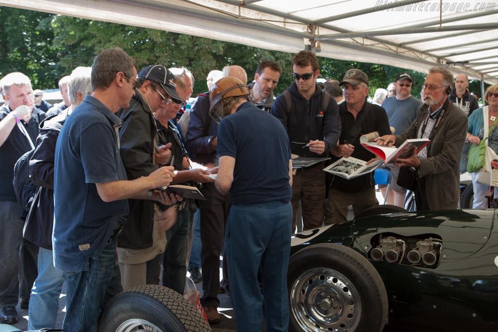 Tony Brooks    - 2012 Goodwood Festival of Speed