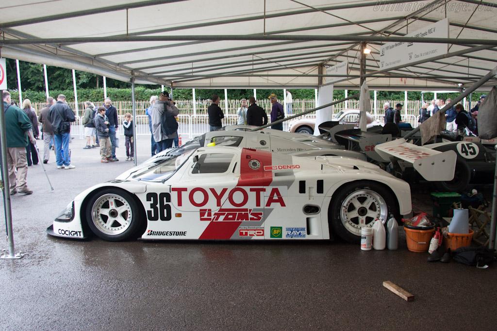 Toyota 90C-V    - 2012 Goodwood Festival of Speed