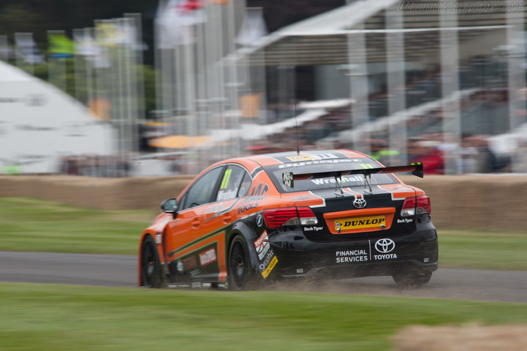 Toyota Avensis NGTC    - 2012 Goodwood Festival of Speed
