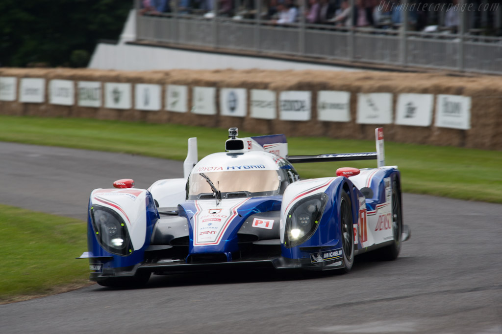 Toyota TS030 Hybrid - Chassis: 12-02   - 2012 Goodwood Festival of Speed