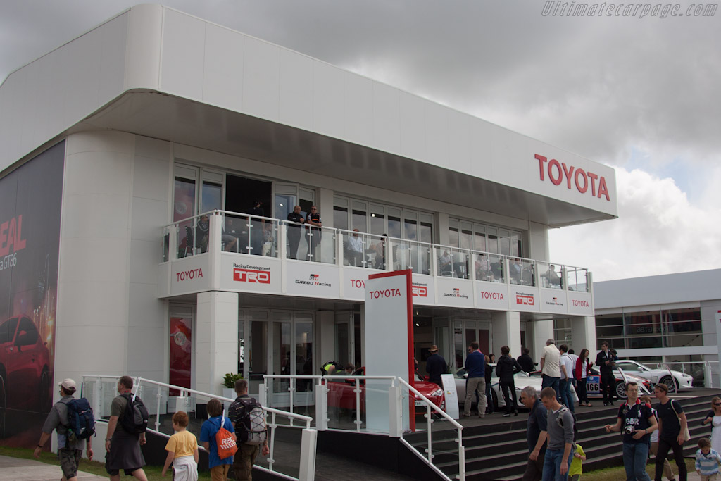 Toyota display    - 2012 Goodwood Festival of Speed