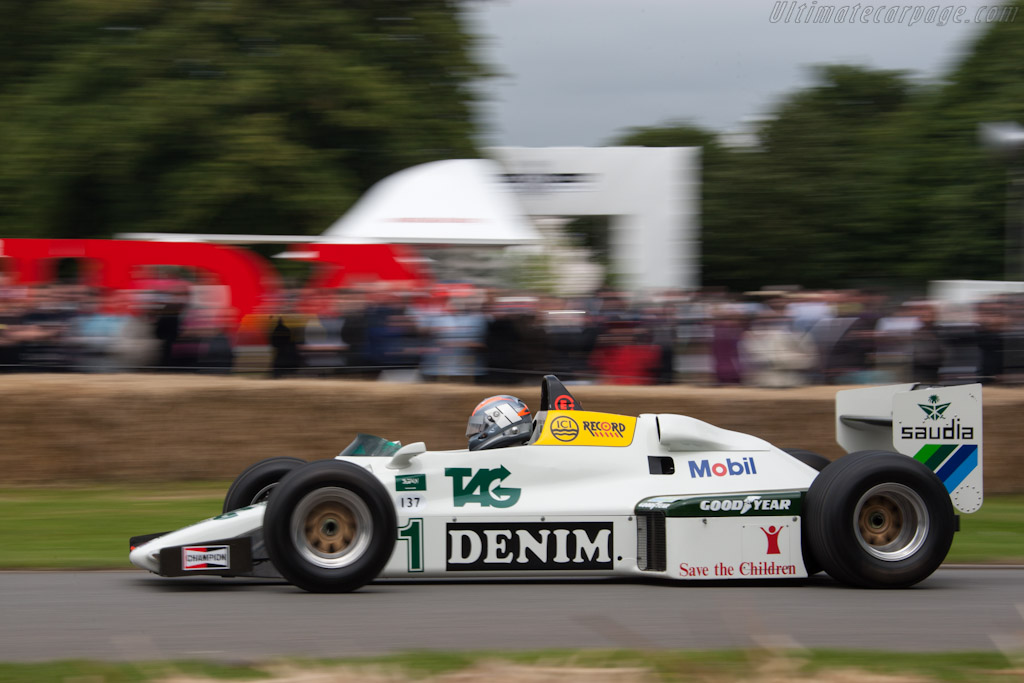 Williams FW08C Cosworth - Chassis: FW08-09 - Driver: Rick Hall  - 2012 Goodwood Festival of Speed
