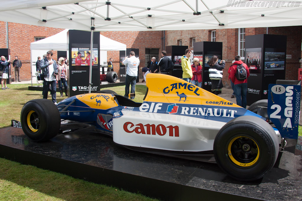 Williams FW15C Renault - Chassis: FW15C-2   - 2012 Goodwood Festival of Speed