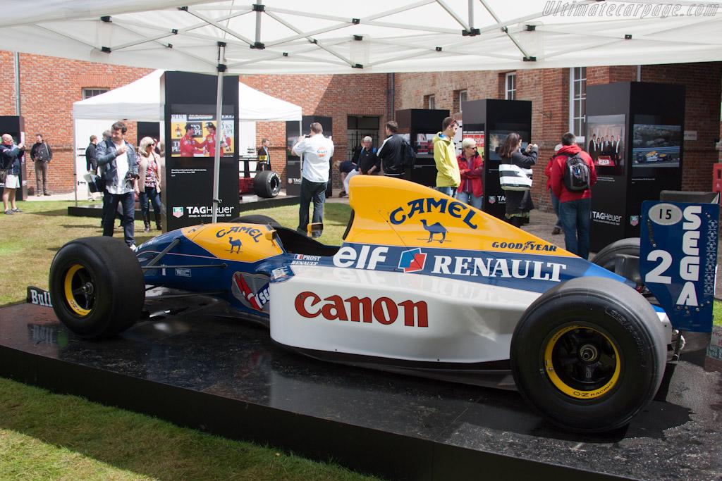 Williams FW15C Renault    - 2012 Goodwood Festival of Speed