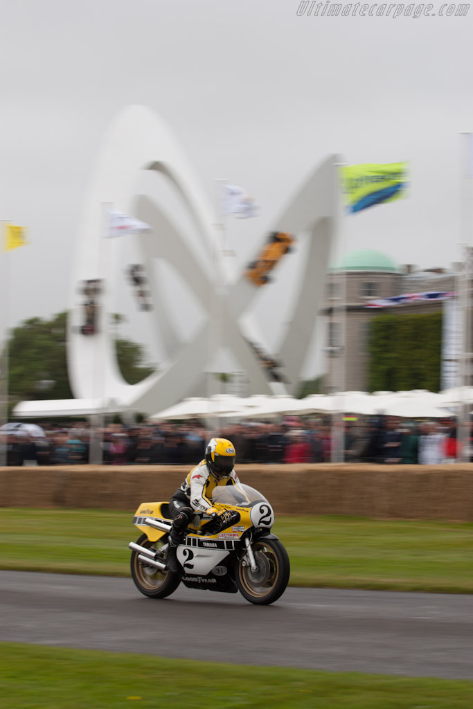 Yamaha OW31 YZR750    - 2012 Goodwood Festival of Speed