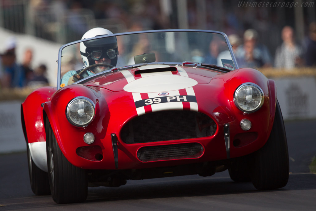 AC Shelby Cobra - Chassis: CS2131 - Entrant: Paul Vestey - Driver: Doug Nye - 2013 Goodwood Festival of Speed