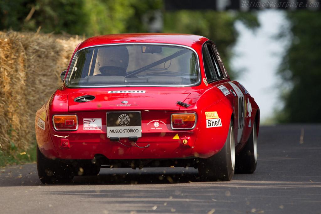 Alfa Romeo 1750 GTAm - Chassis: AR1530782 - Entrant: Museo Storico Alfa Romeo - Driver: Stefano Agazzi  - 2013 Goodwood Festival of Speed