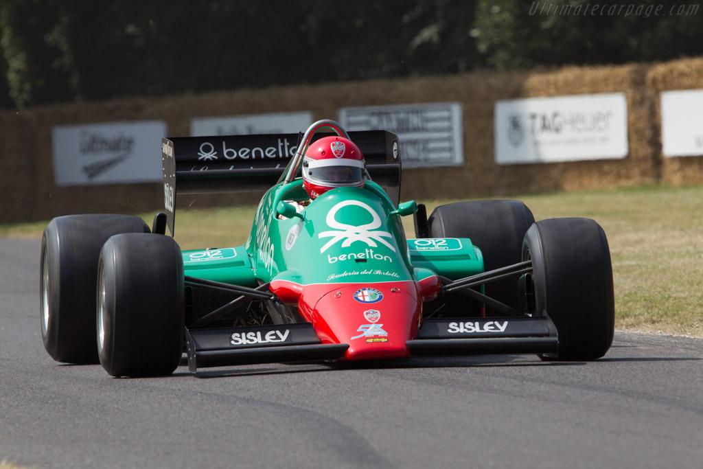 Alfa Romeo 183T - Chassis: 183T/2 - Entrant: Scuderia del Portello - Driver: Marco Cajani  - 2013 Goodwood Festival of Speed
