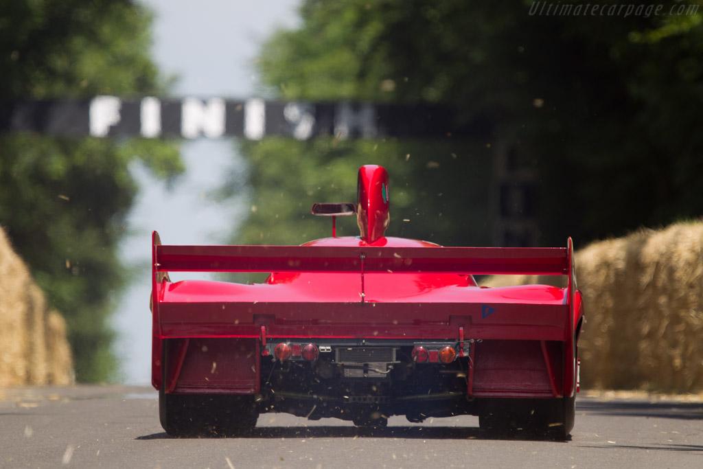 Alfa Romeo 33/TT/12 - Chassis: AR 11512-006 - Entrant: Museo Storico Alfa Romeo - Driver: Arturo Merzario  - 2013 Goodwood Festival of Speed