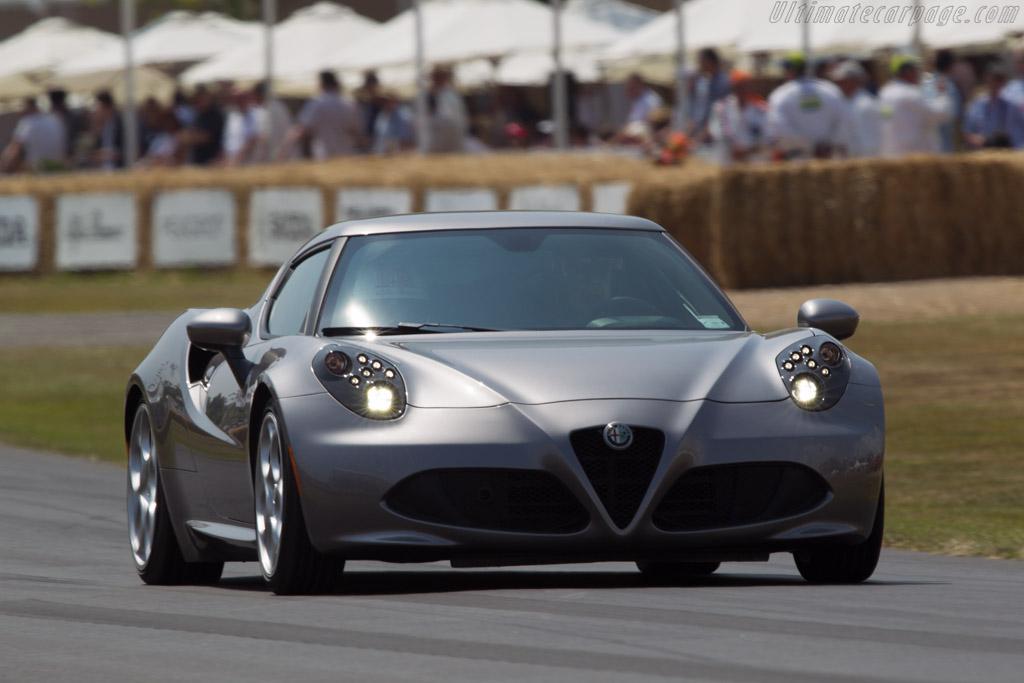 Alfa Romeo 4C    - 2013 Goodwood Festival of Speed