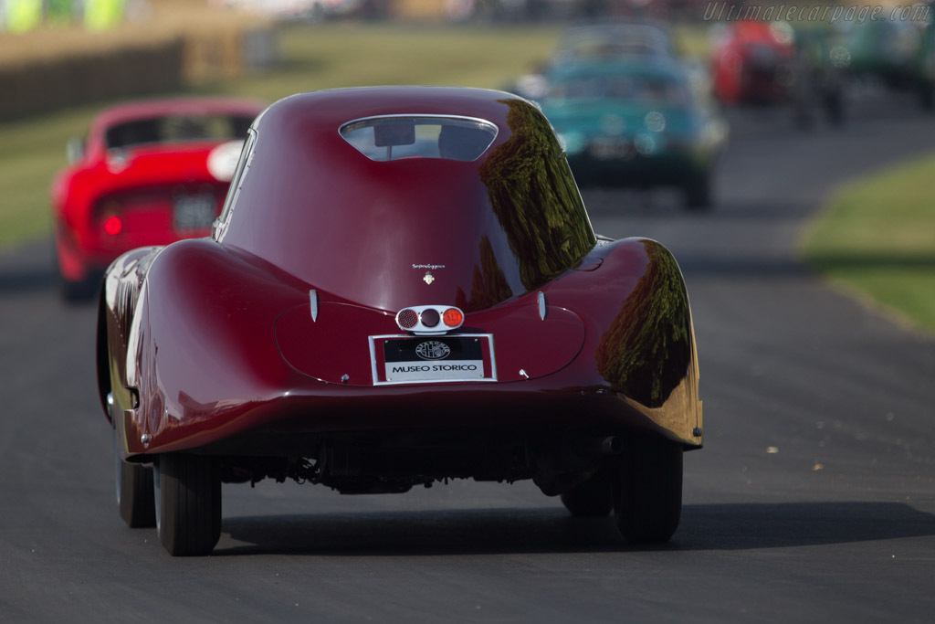 Alfa Romeo 8C 2900B Le Mans Coupe - Chassis: 412033 - Entrant: Museo Storico Alfa Romeo - Driver: Richard Gadeselli  - 2013 Goodwood Festival of Speed