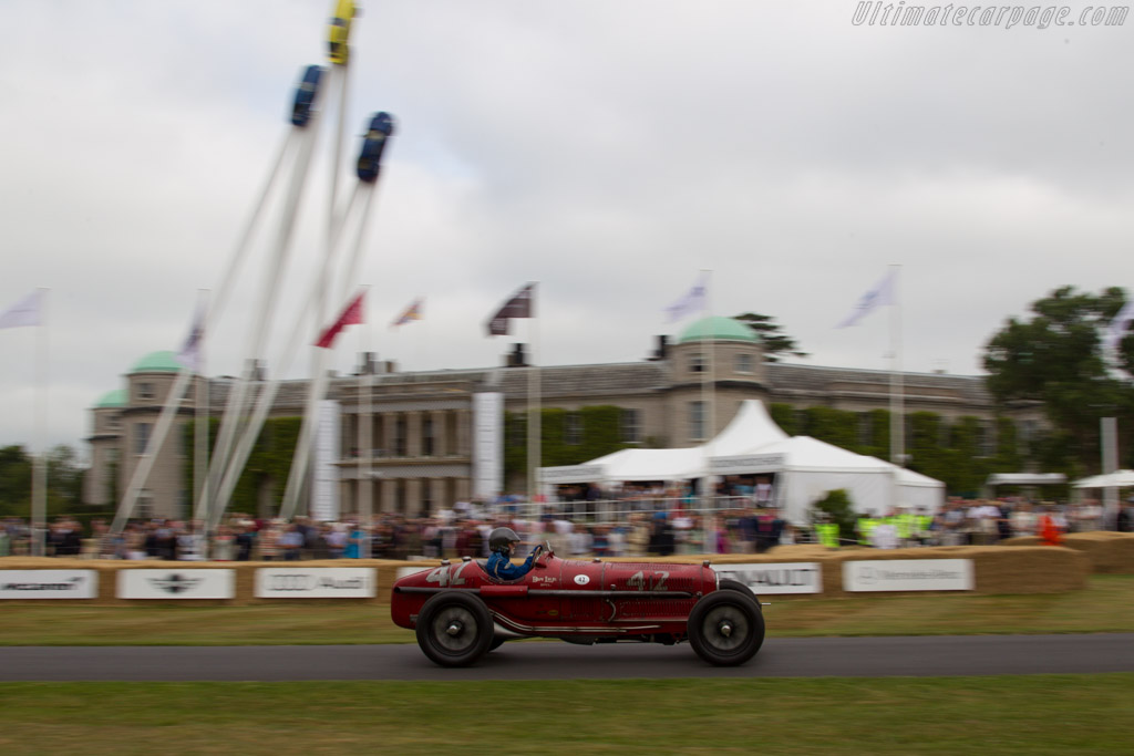 Alfa Romeo Tipo B P3 - Chassis: 50007 - Driver: Hugh Taylor  - 2013 Goodwood Festival of Speed