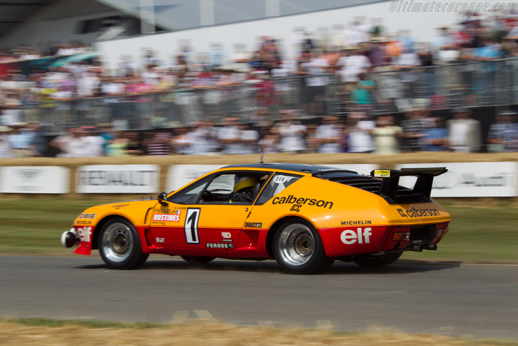 Alpine A310  - Entrant: Collection Renault - Driver: Jean Ragnotti  - 2013 Goodwood Festival of Speed