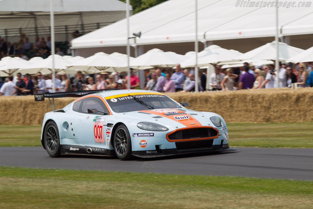 Aston Martin DBR9 - Chassis: DBR9/7 - Entrant: Rofgo Collection - Driver: Stuart Hall  - 2013 Goodwood Festival of Speed