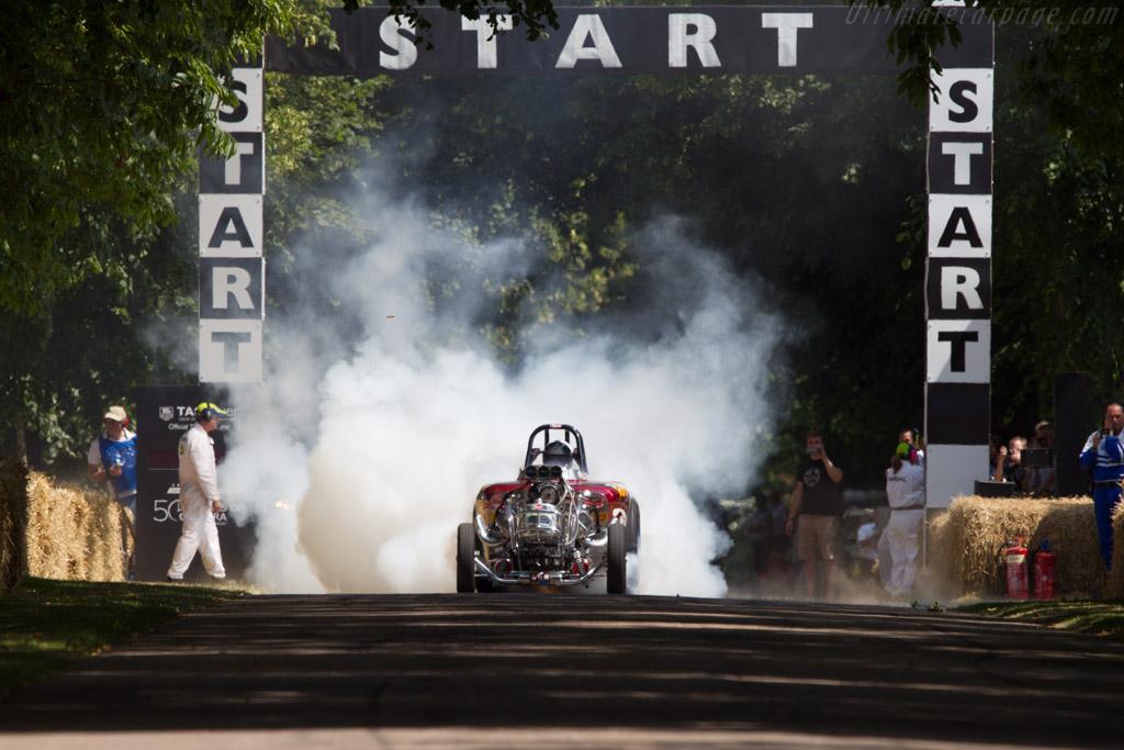 Austin Bantam Roadster 'Pure Hell'  - Driver: Richard Guasco  - 2013 Goodwood Festival of Speed