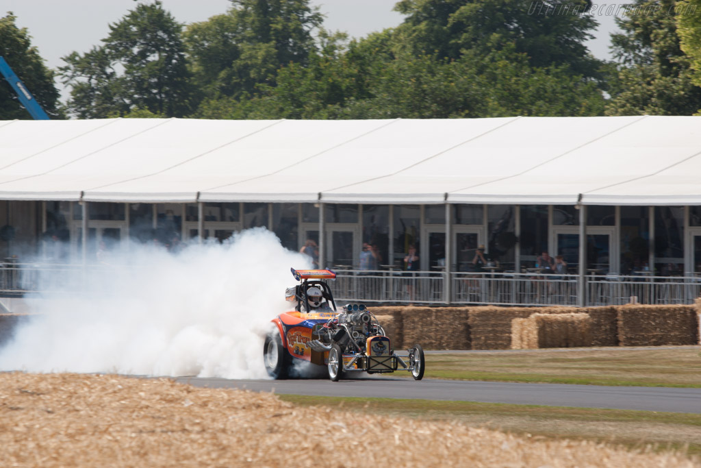 Austin Bantam Roadster 'Rat Trap'  - Driver: Ron Hope  - 2013 Goodwood Festival of Speed