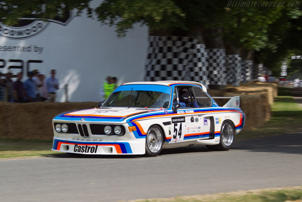 BMW 3.0 CSL - Chassis: 2275998 - Driver: Alex Elliott  - 2013 Goodwood Festival of Speed