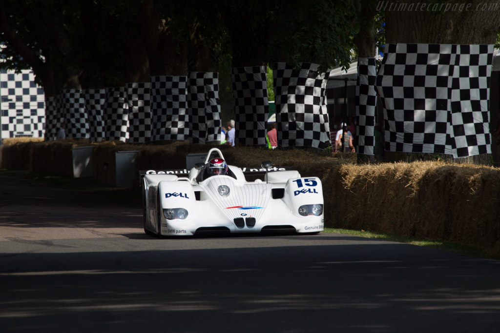 BMW V12 LMR - Chassis: 003/99 - Entrant: BMW Group Classic - Driver: Steve Soper  - 2013 Goodwood Festival of Speed