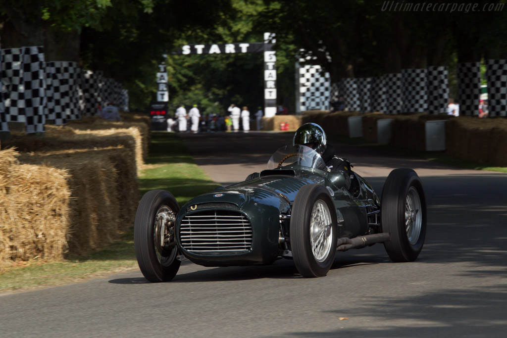 BRM P15 V16 - Chassis: Type 15 / 1 - Entrant: National Motor Museum - Driver: Doug Hill  - 2013 Goodwood Festival of Speed