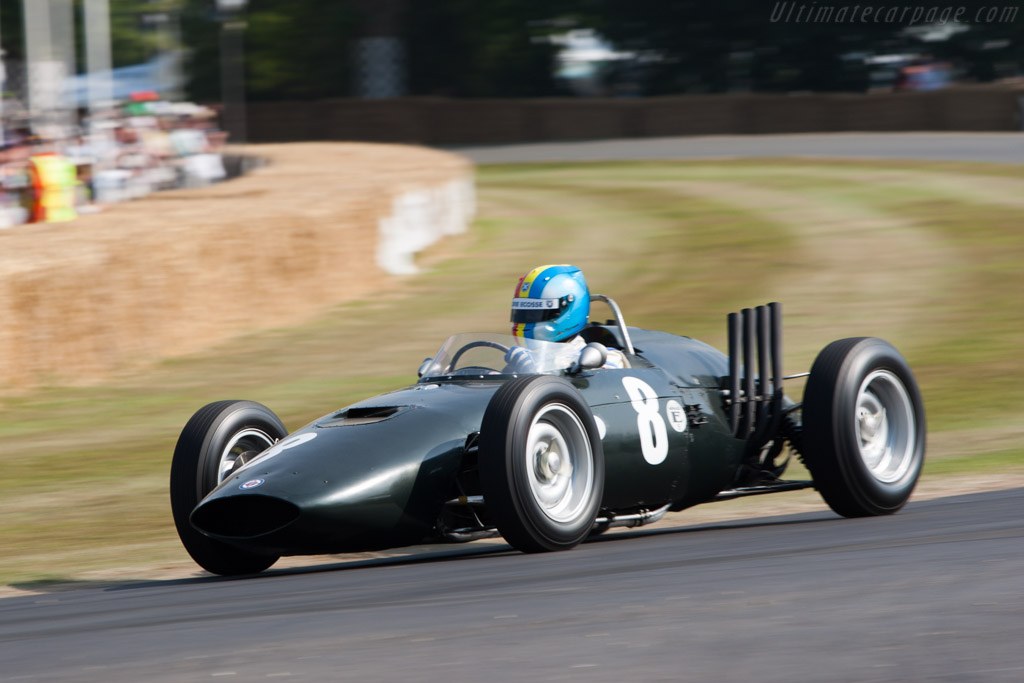 BRM P57 V8 - Chassis: 573 - Entrant: David Clark - Driver: Joe Twyman  - 2013 Goodwood Festival of Speed