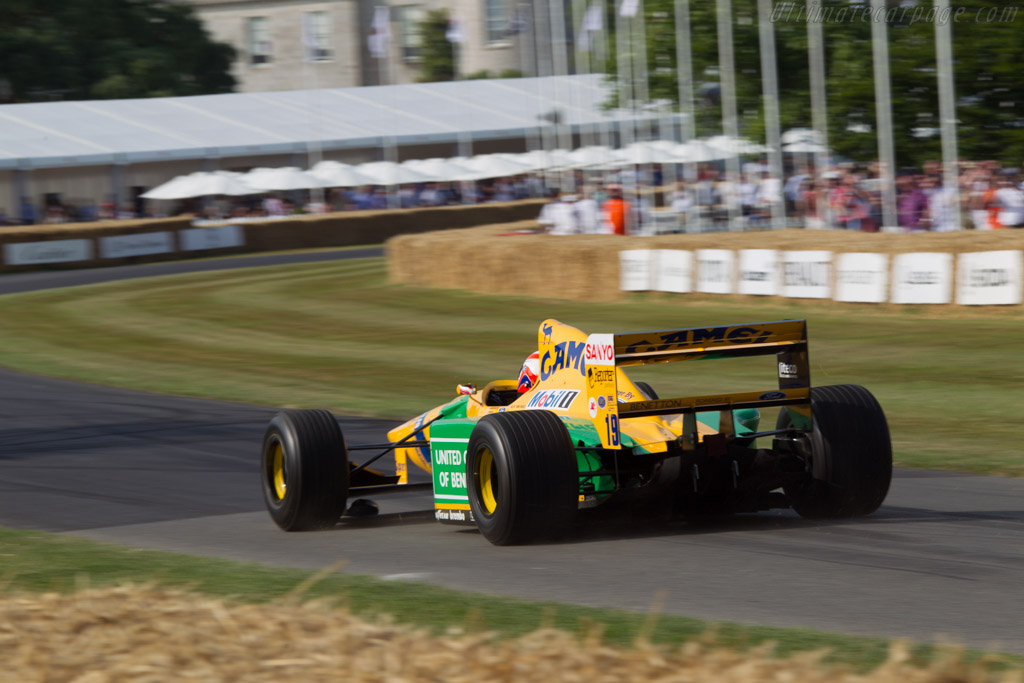 Benetton B192 Ford - Chassis: B192-8 - Driver: Alex Brundle  - 2013 Goodwood Festival of Speed
