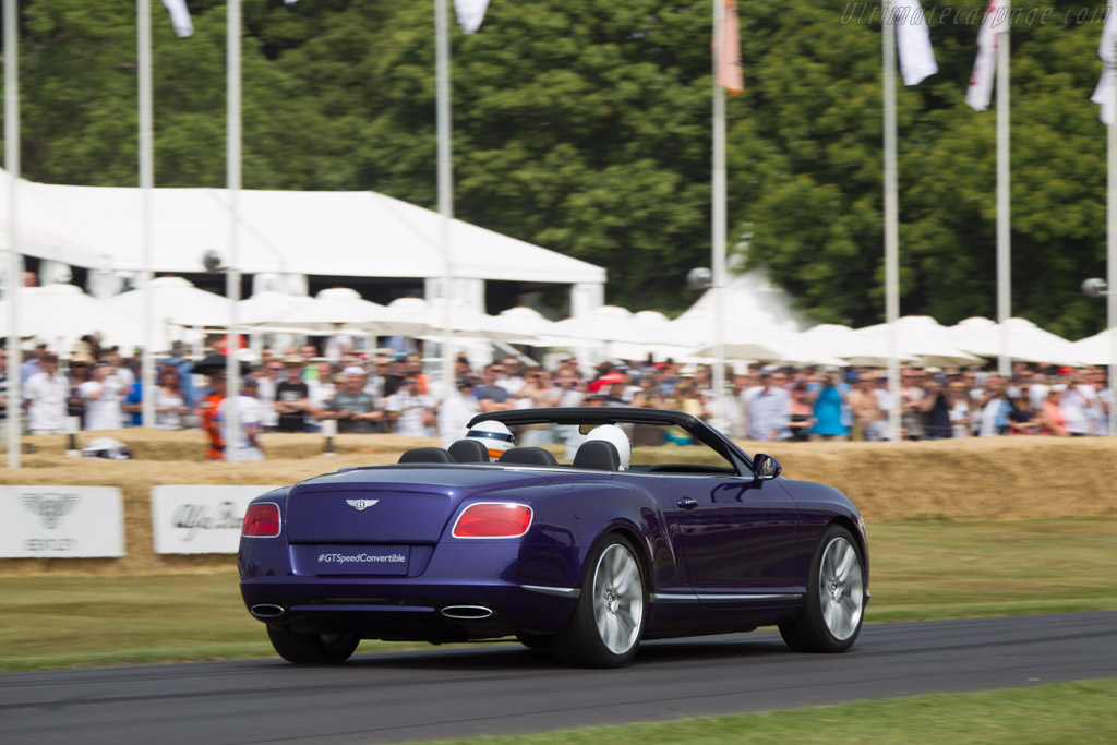 Bentley Continental GT Speed Convertible    - 2013 Goodwood Festival of Speed