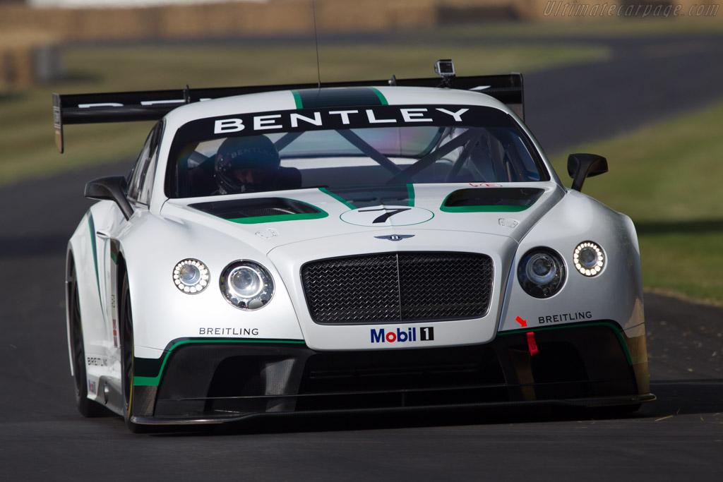 Bentley Continental GT3  - Entrant: Bentley Motors - Driver: Guy Smith  - 2013 Goodwood Festival of Speed