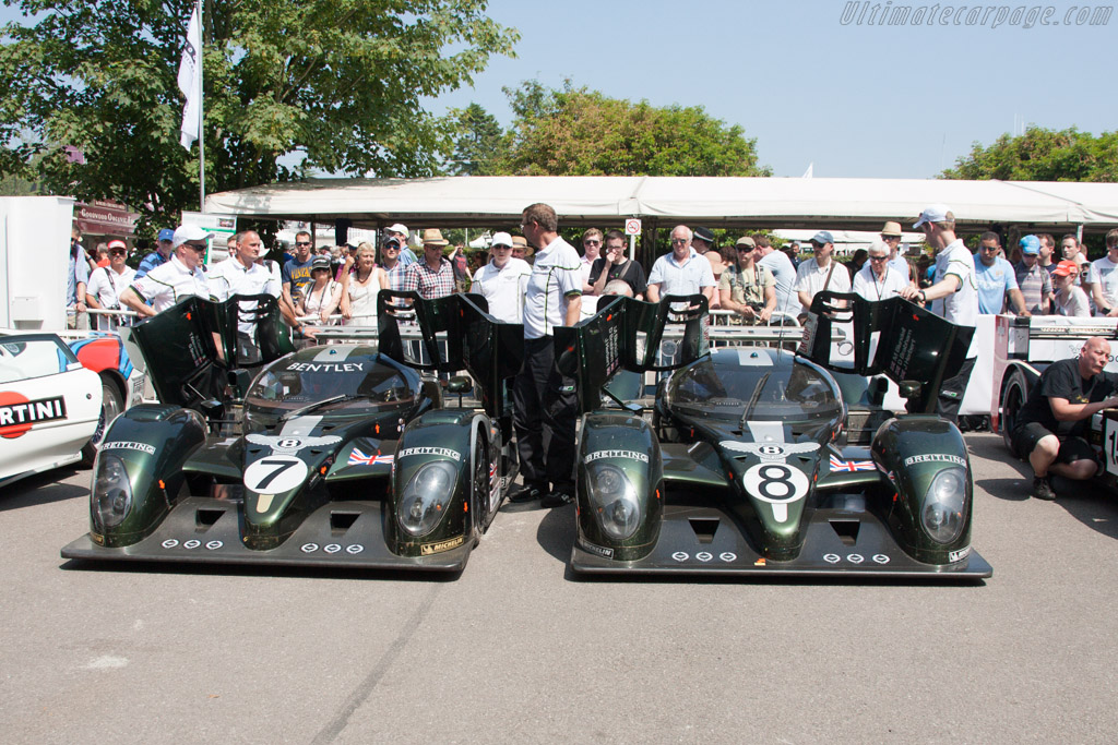Bentley Speed 8 - Chassis: 004/1 - Entrant: Bentley Motors  - 2013 Goodwood Festival of Speed