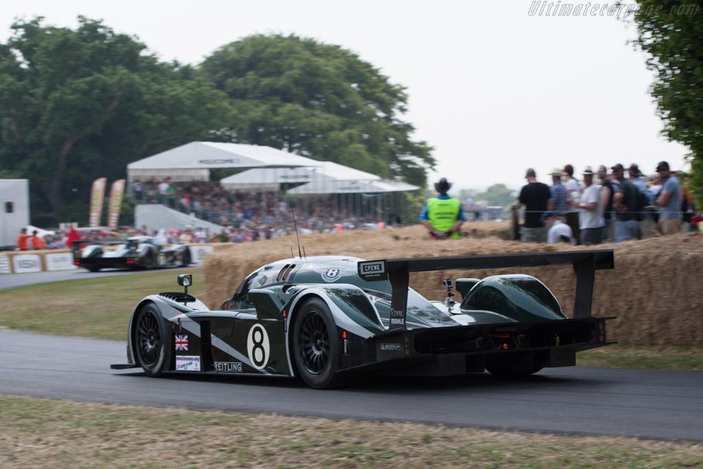 Bentley Speed 8 - Chassis: 004/3 - Entrant: Bentley Motors  - 2013 Goodwood Festival of Speed