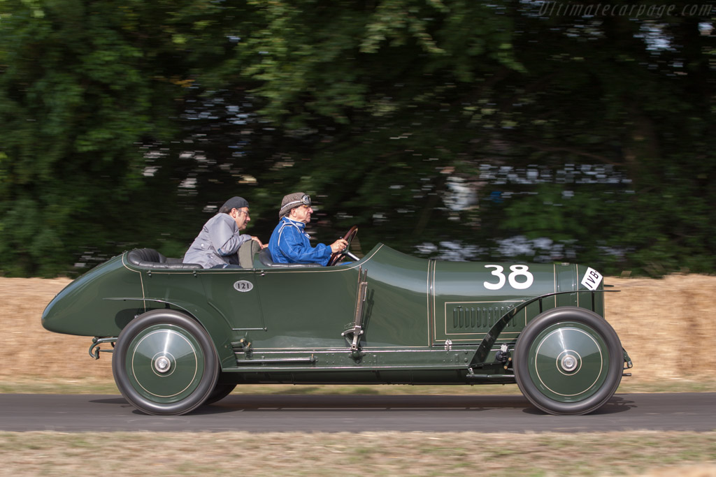Benz 21/80hp 'Prinz Heinrich' - Chassis: 5566 - Entrant: Mercedes-Benz Classic - Driver: Evert Louwman  - 2013 Goodwood Festival of Speed