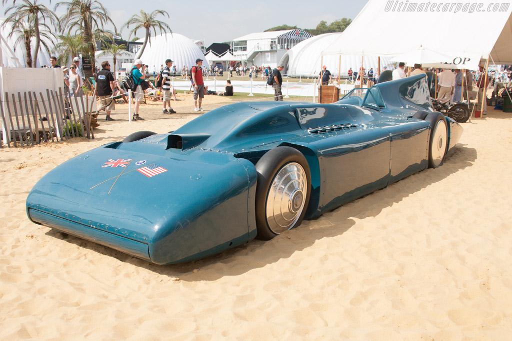 Bluebird  - Entrant: International Speedway Museum  - 2013 Goodwood Festival of Speed