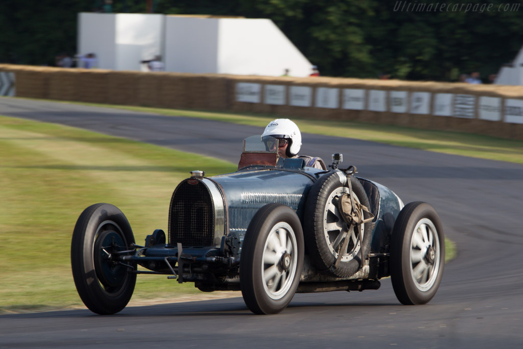 Bugatti Type 35C - Chassis: 4696 - Driver: Walter Rothlauf  - 2013 Goodwood Festival of Speed