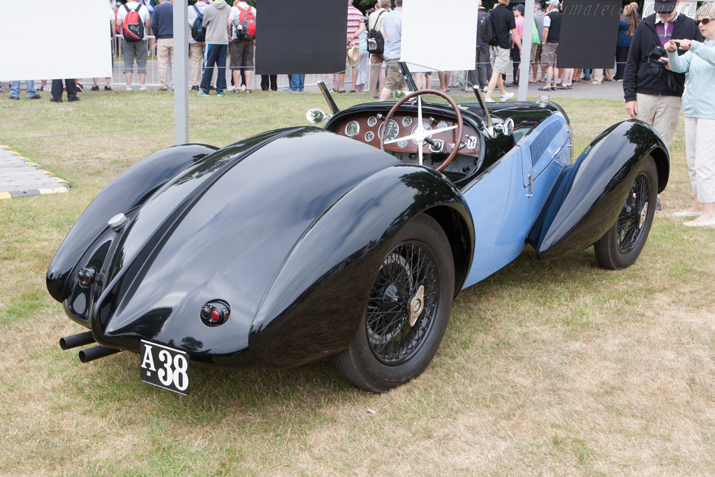Bugatti Type 51A Roadster  - Entrant: Henrik Schou-Nielson  - 2013 Goodwood Festival of Speed