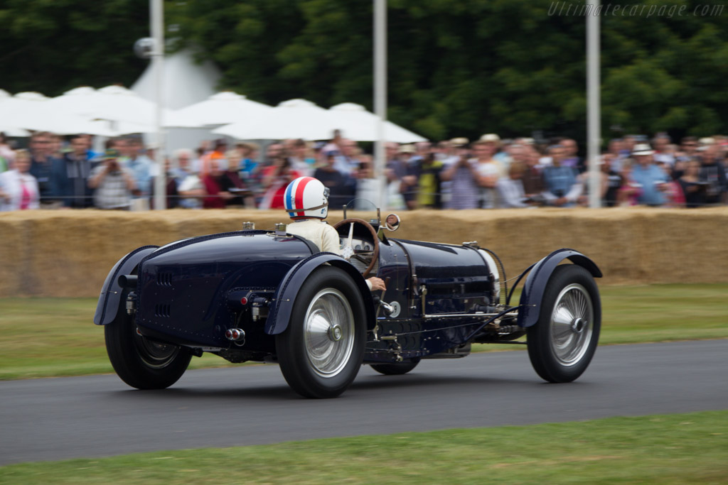 Bugatti Type 59 - Chassis: 59121 - Driver: Mick Walsh  - 2013 Goodwood Festival of Speed