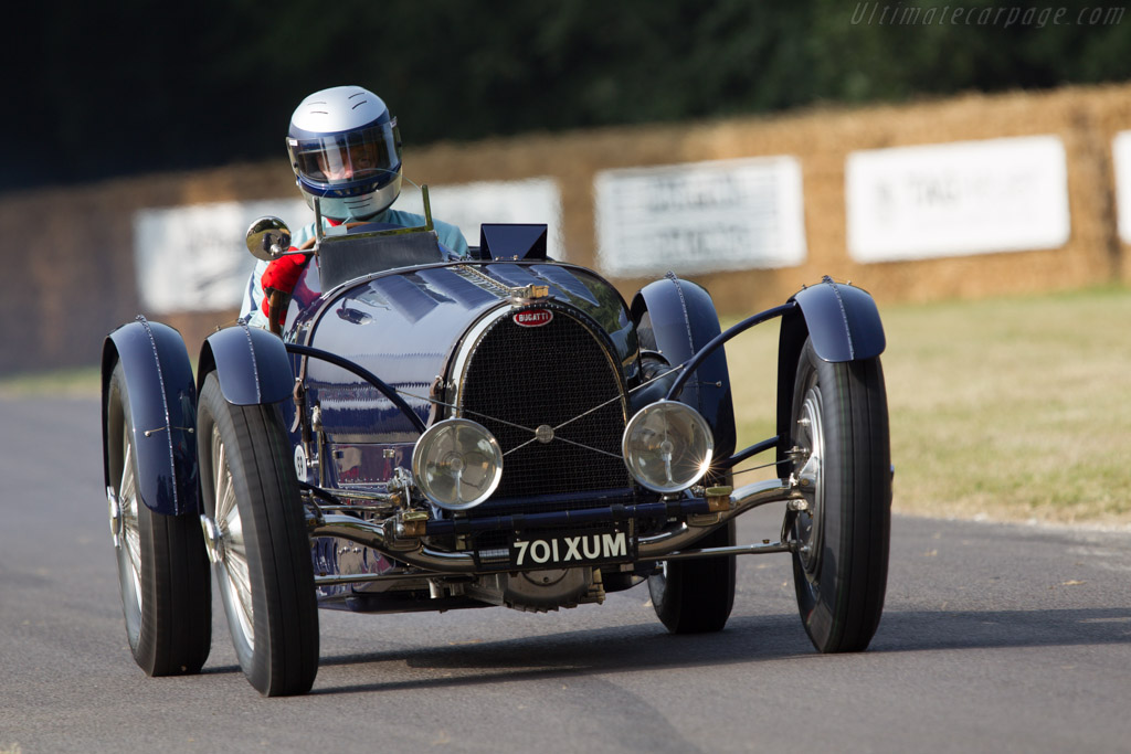 Bugatti Type 59 - Chassis: 59121 - Driver: Thomas Bscher  - 2013 Goodwood Festival of Speed