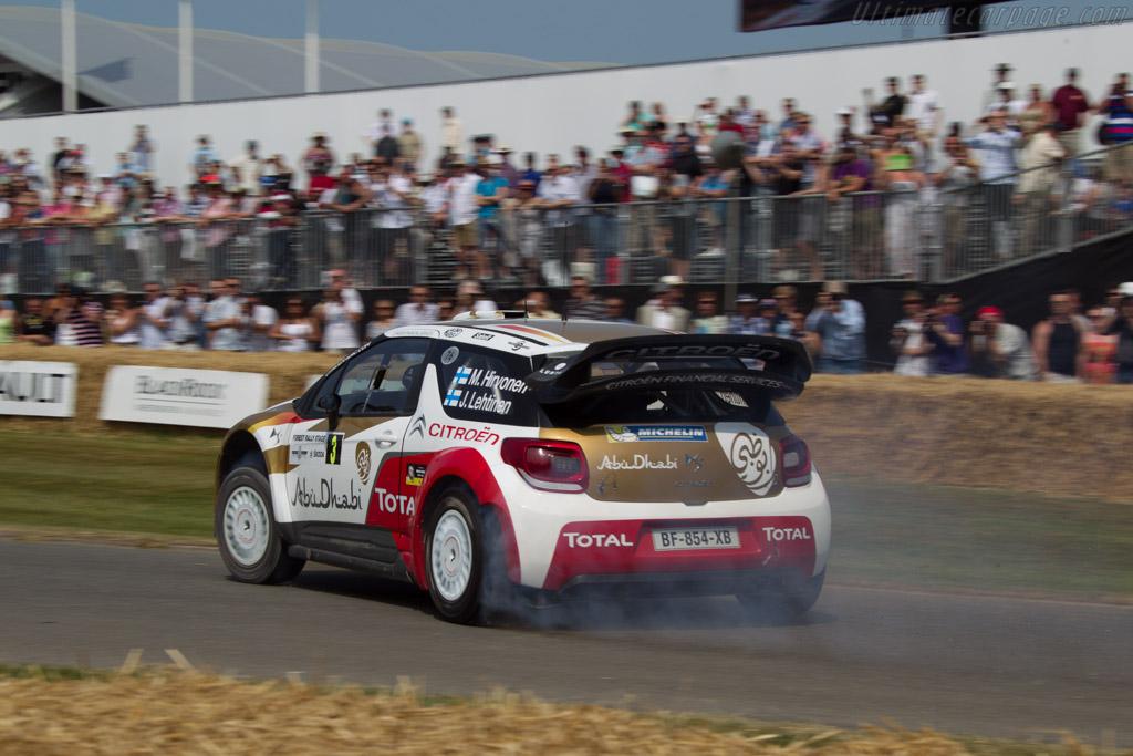 Citroén DS3 WRC  - Driver: Mikko Kovalainen  - 2013 Goodwood Festival of Speed