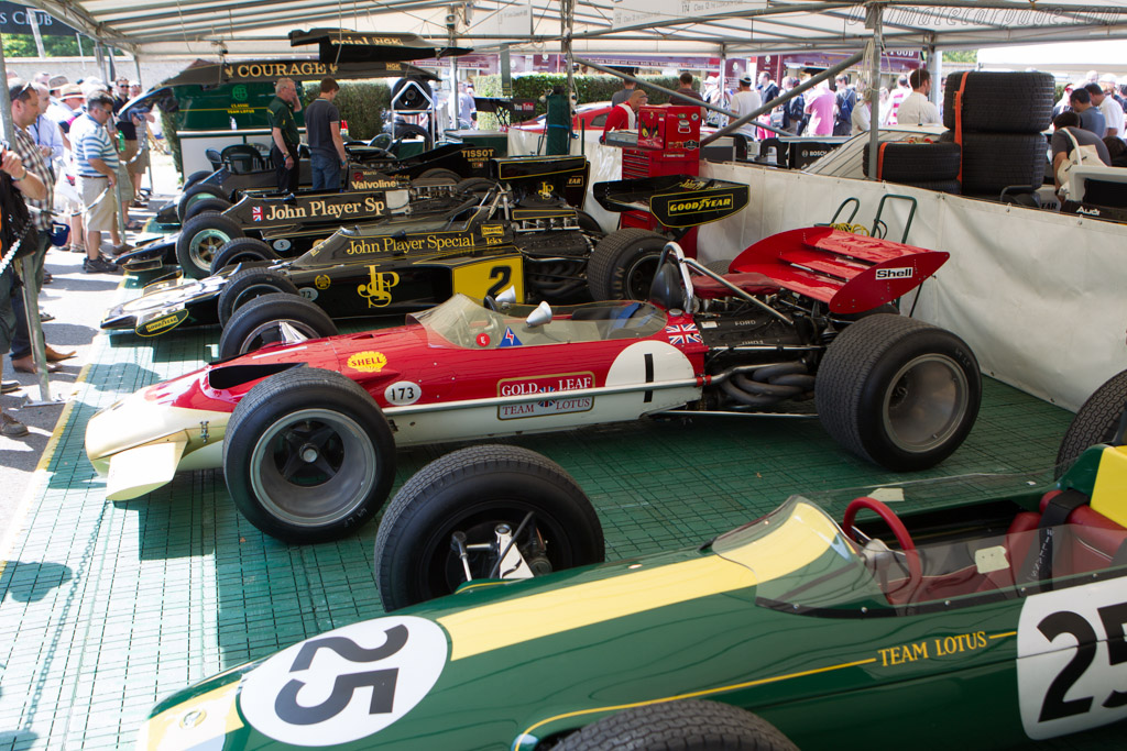 Classic Team Lotus - Chassis: R10 - Entrant: Classic Team Lotus  - 2013 Goodwood Festival of Speed