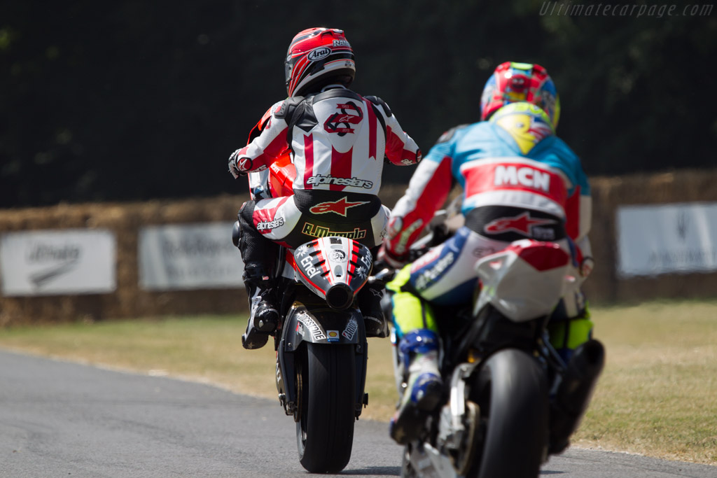 Ducati GP11 'VR2'  - Driver: Randy Mamola  - 2013 Goodwood Festival of Speed