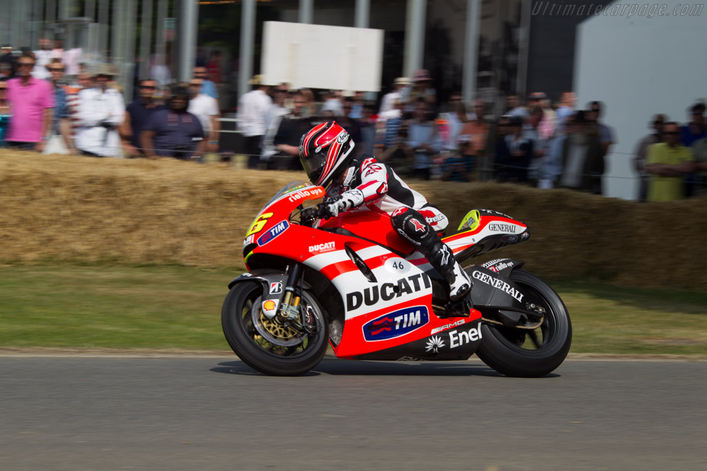 Ducati GP11 'VR2'    - 2013 Goodwood Festival of Speed