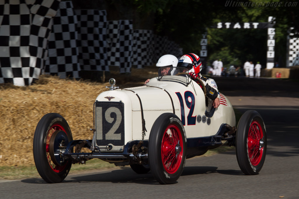 Duesenberg 183 - Chassis: 120 - Entrant: Indianapolis Motor Speedway Hall of Fame - Driver: Gil de Ferran  - 2013 Goodwood Festival of Speed