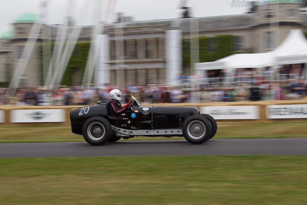 ERA R4D - Chassis: R4D - Driver: J Mac Hulbert  - 2013 Goodwood Festival of Speed