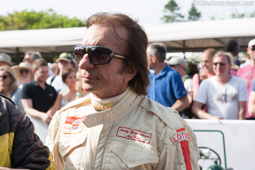 Emerson Fittipaldi    - 2013 Goodwood Festival of Speed