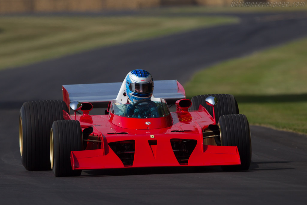 Ferrari 312 B3 Spazzaneve - Chassis: 009 - Driver: Franco Meiners  - 2013 Goodwood Festival of Speed