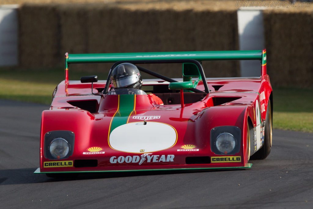 Ferrari 312 PB - Chassis: 0890 - Entrant: The Provenance Collection - Driver: Paul Knapfield  - 2013 Goodwood Festival of Speed
