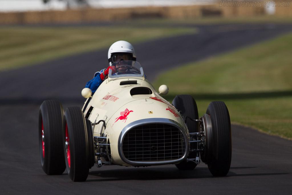 Ferrari 375 Indy - Chassis: 02 - Entrant: The Louwman Museum - Driver: Evert Louwman  - 2013 Goodwood Festival of Speed