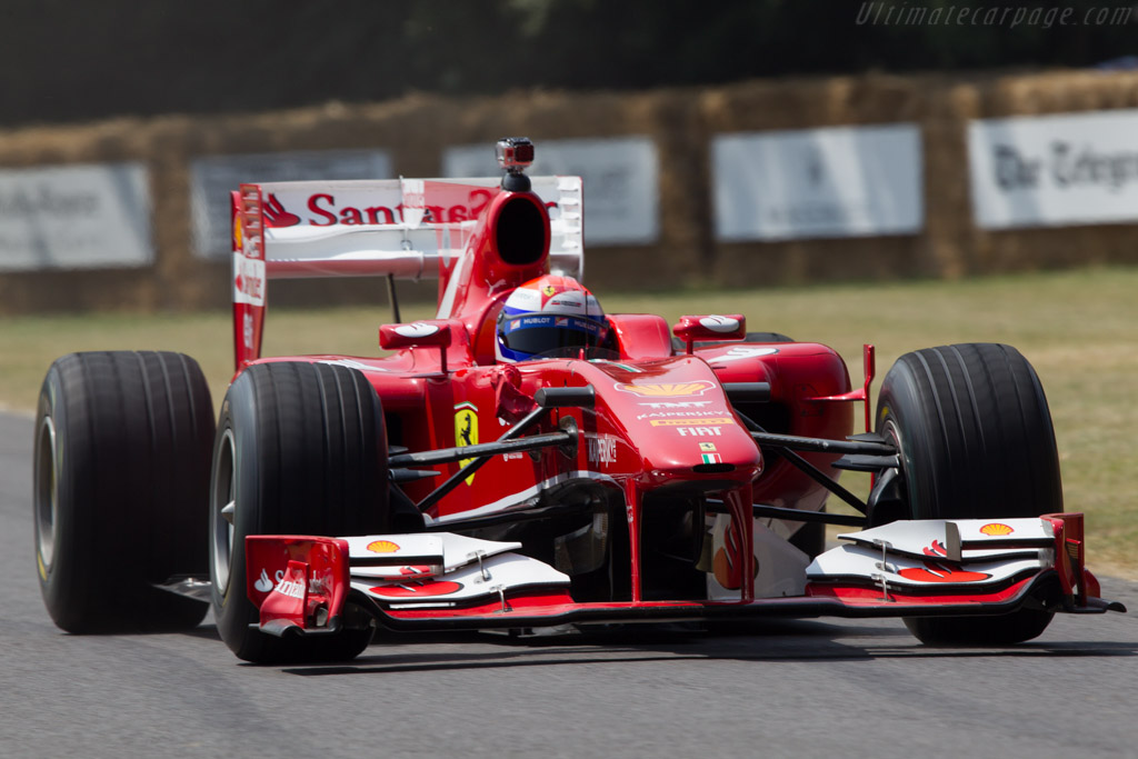 Ferrari F60  - Driver: Marc Gene - 2013 Goodwood Festival of Speed