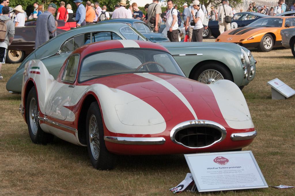 Fiat Turbina  - Entrant: Museo Nazionale dell'Automobile Torino  - 2013 Goodwood Festival of Speed