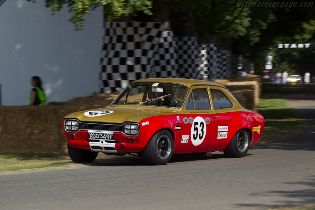 Ford Escort Twin Cam  - Driver: Henry Mann  - 2013 Goodwood Festival of Speed