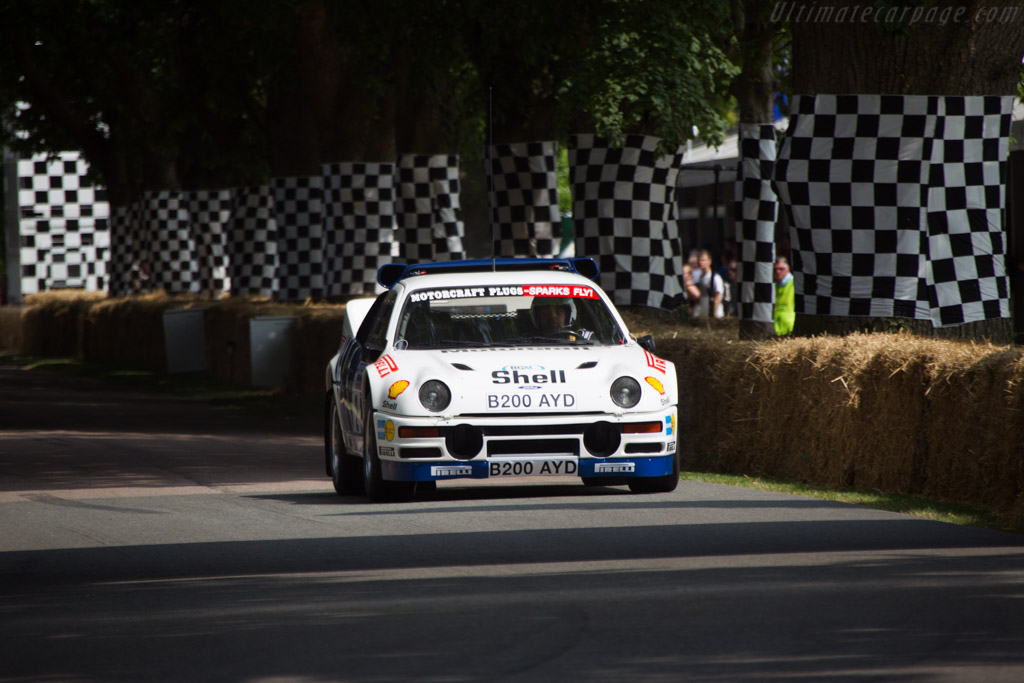 Ford RS200  - Driver: Stephen Rimmer  - 2013 Goodwood Festival of Speed