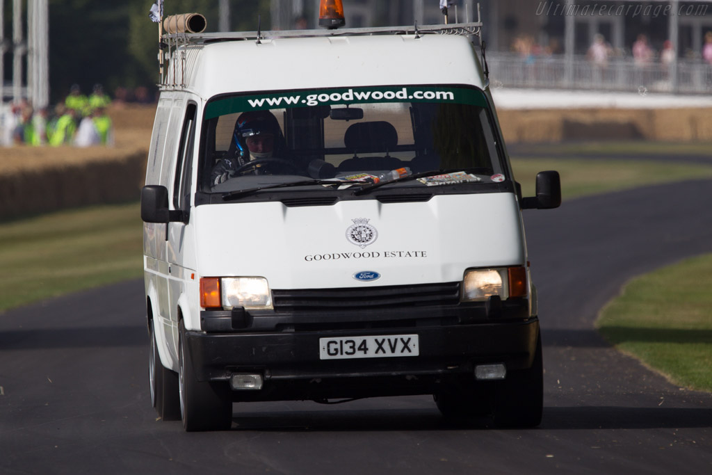 Ford Transit  - Entrant: Don Law Racing - Driver: Justin Law  - 2013 Goodwood Festival of Speed